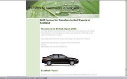 Golf ecosse transfert